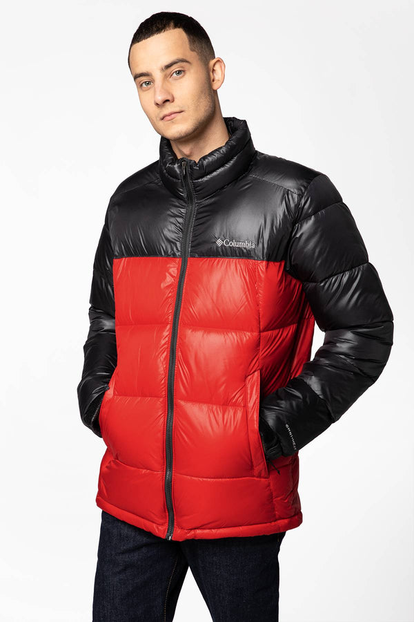 #00019  Columbia oblečení, bunda Pike Lake Jacket 1738022-615 RED/BLACK