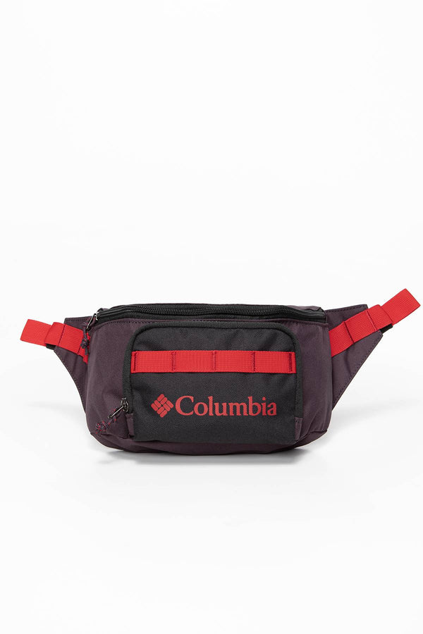#00030  Columbia sáček Zigzag Hip Pack 1890911-511 VIOLET/BLACK/RED