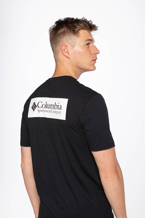 #00027  Columbia tričko North Cascades Short Sleeve Tee 041 BLACK