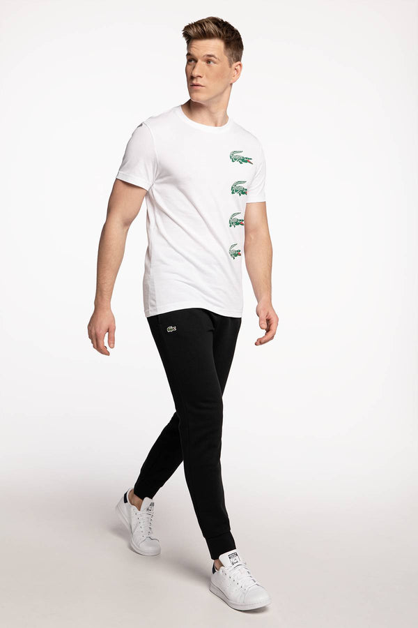 #00024  Lacoste tričko TH7222-001 WHITE