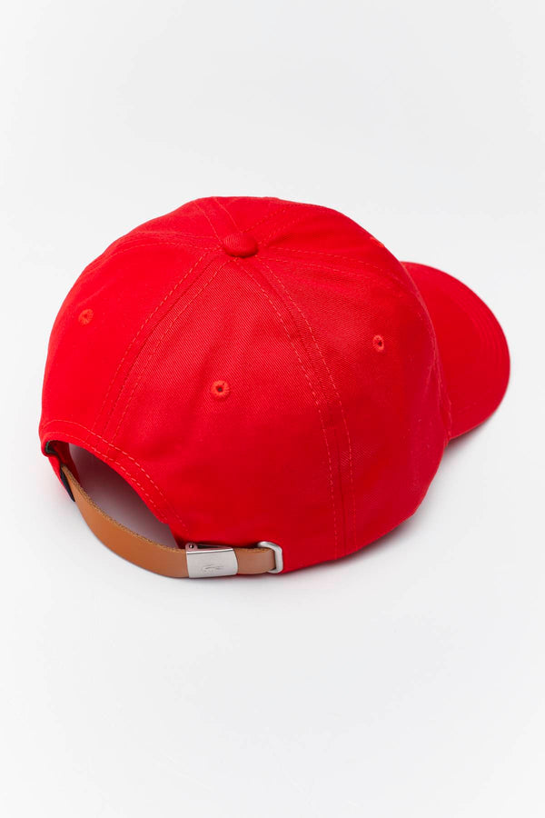 #00060  Lacoste doplňky CAP 240 RED