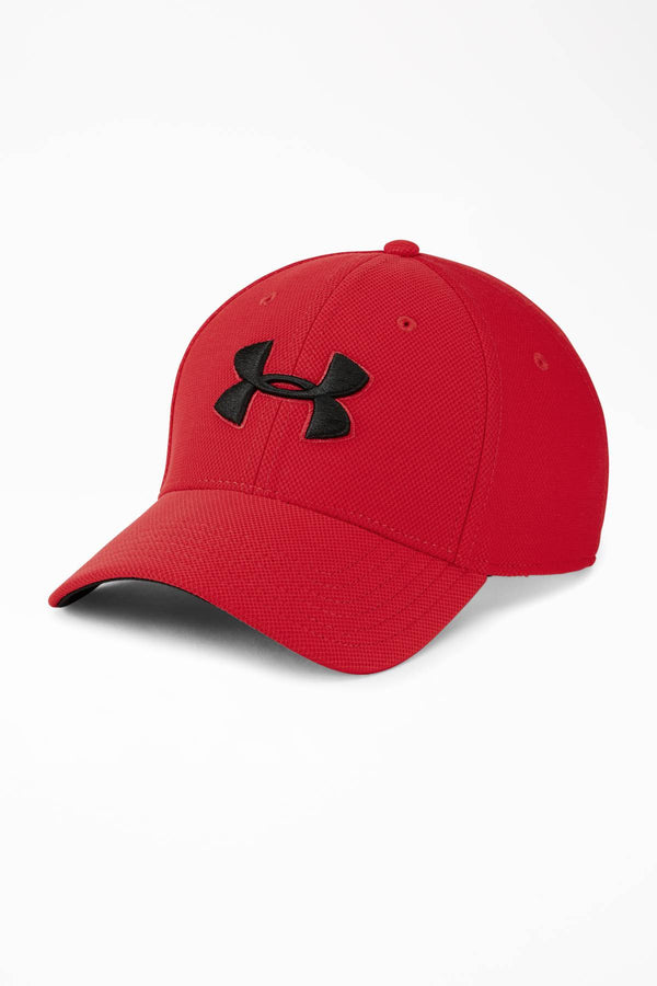 #00008  Under Armour doplňky MEN'S BLITZING 3.0 CAP 600 RED/BLACK
