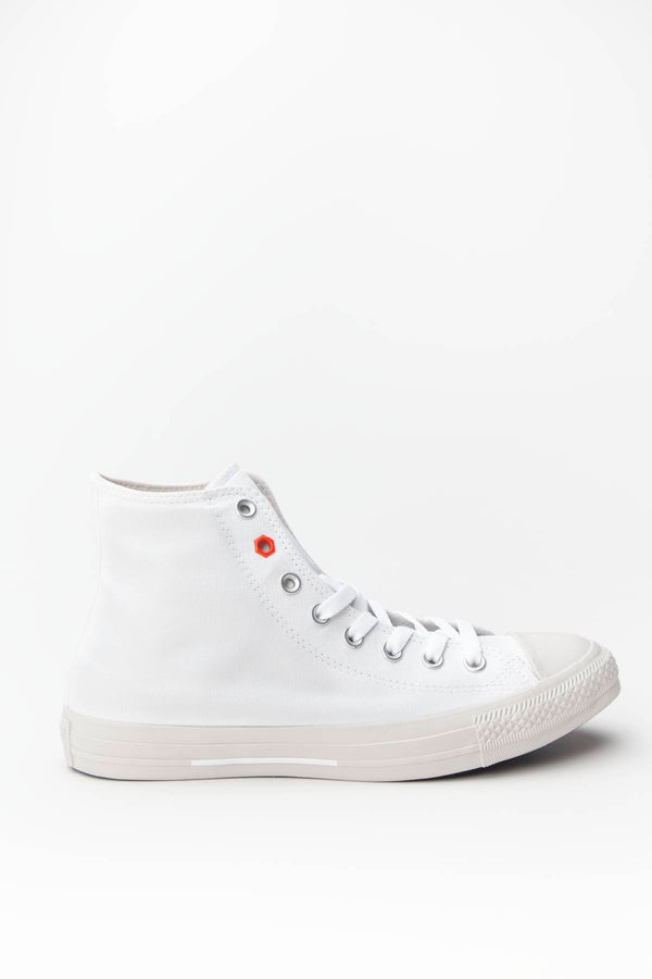 #00088  Converse obuv, tenisky CHUCK TAYLOR ALL STAR HI 051 WHITE/HABANERO RED/PALE PUTTY