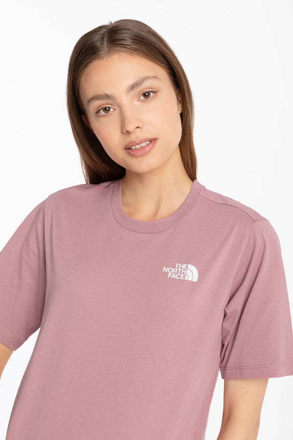 #00036  The North Face tričko SIMPLE DOME MESA 001 PINK