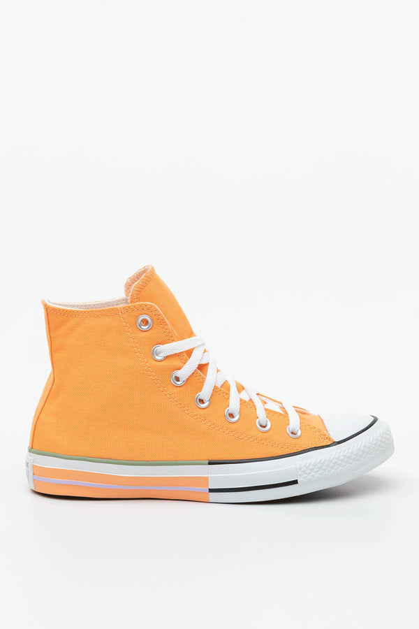 #00134  Converse obuv, tenisky CHUCK TAYLOR ALL STAR HI 634 FUEL ORANGE/MOONSTONE VIOLET