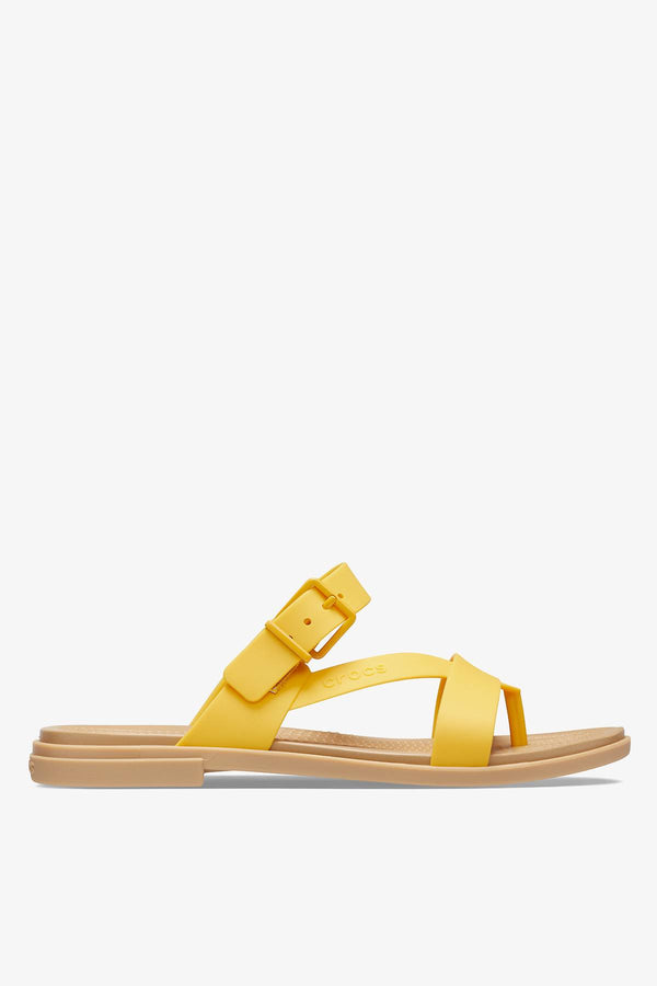 #00075  Crocs obuv TULUM TOE POST SANDAL W 206108 CANARY/TAN