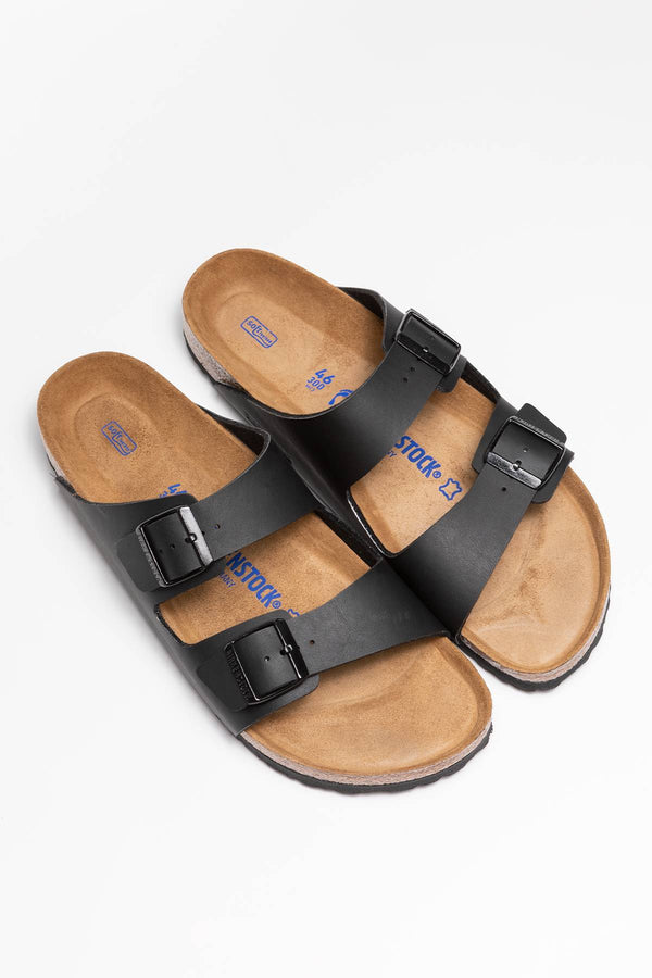 #00018  Birkenstock obuv, flip flopy Arizona BF Soft Footbed 551253 BLACK
