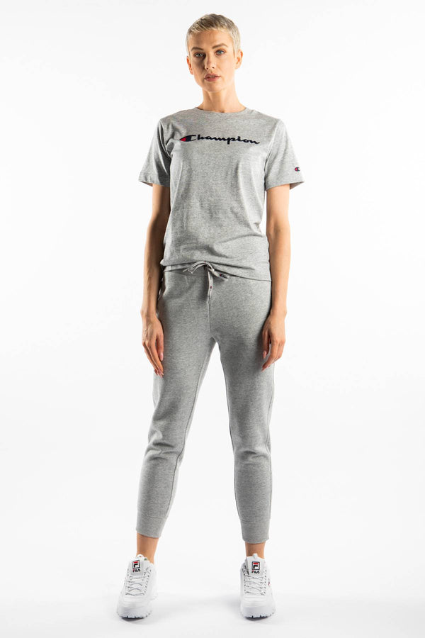 #00041  Champion tričko CREWNECK T-SHIRT EM021 GREY