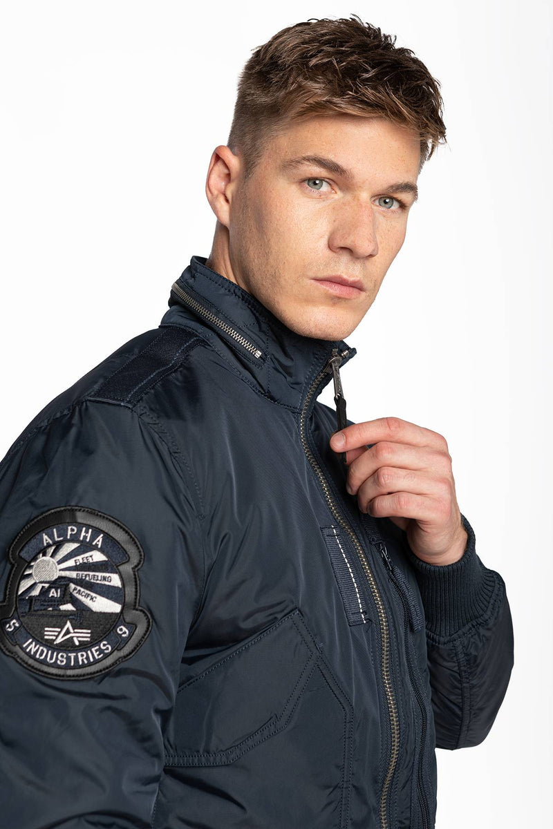 #00062  Alpha Industries oblečení, bunda ENGINE 07 REP. BLUE