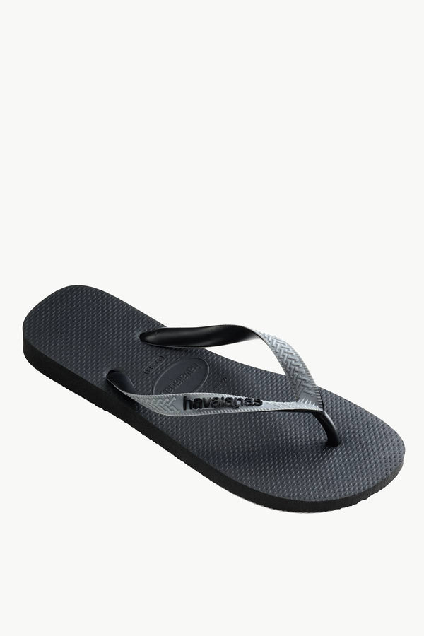 #00014  Havaianas obuv, flip-flopy TOP MIX 7938P BLACK/STEEL GREY/BLACK