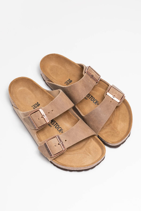 #00016  Birkenstock obuv, flip flopy Arizona NU 352201 TOBACCO BROWN