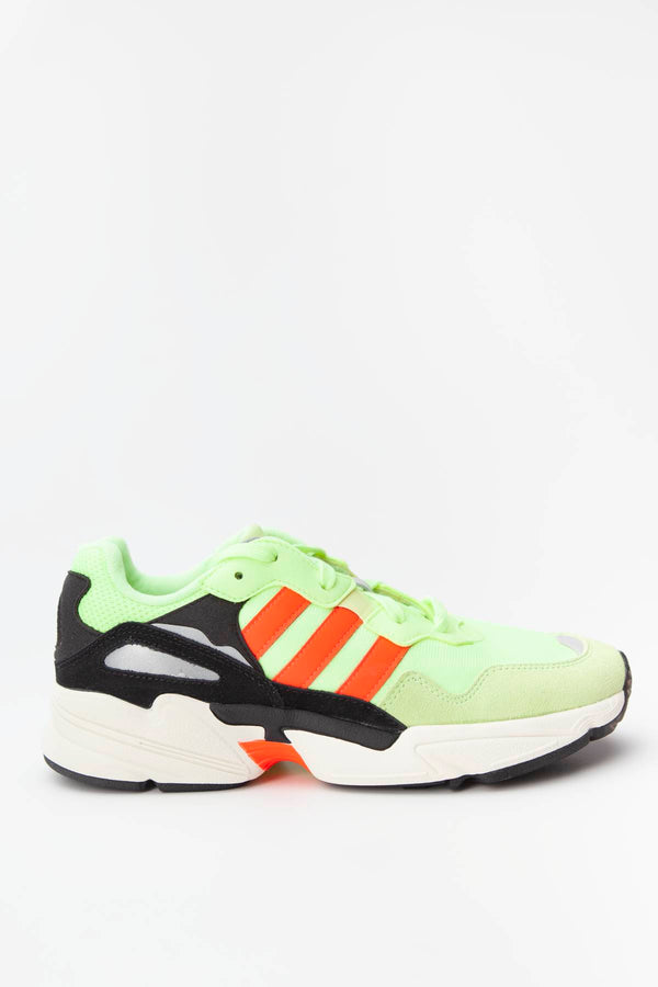#00116  adidas obuv, tenisky YUNG-96 HI-RES YELLOW/SOLAR RED/OFF WHITE