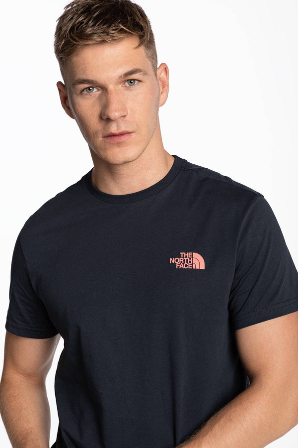 #00042  The North Face tričko M S/S Simple Dome Tee RG1 AVIATOR NAVY