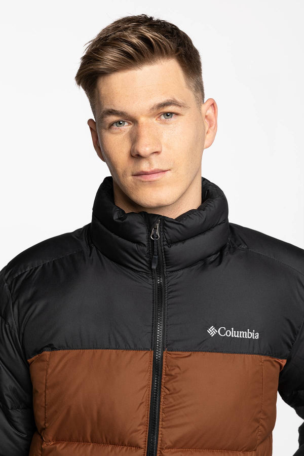 #00014  Columbia oblečení, bunda Pike Lake Jacket 1738022-242 DARK AMBER/BLACK