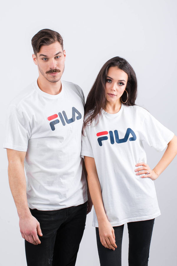 #00021  Fila tričko PURE SHORT SLEEVE SHIRT M67 BRIGHT WHITE