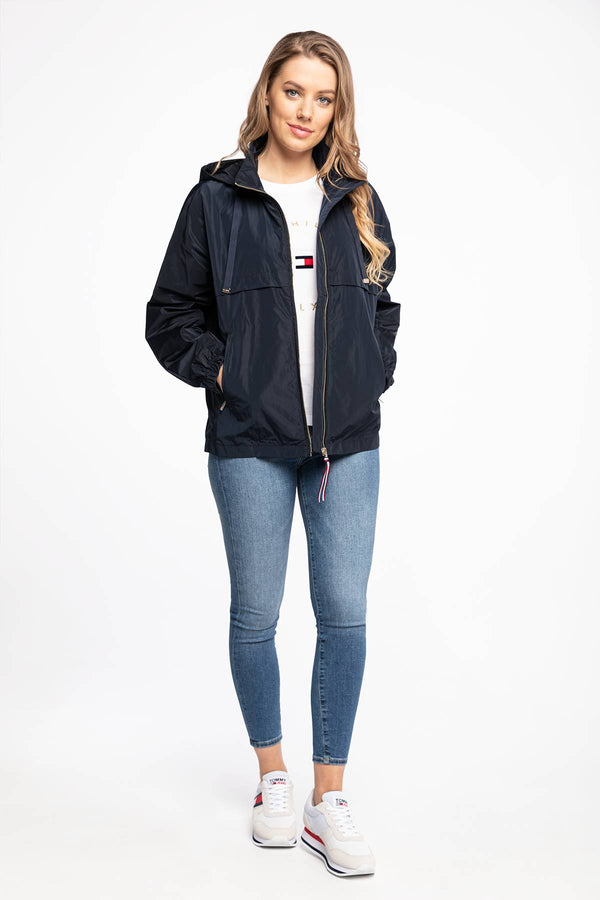 #00008  Tommy Hilfiger oblečení, bunda KURTKA TH ESS POLY WINDBREAKER WW0WW30173DW5 NAVY
