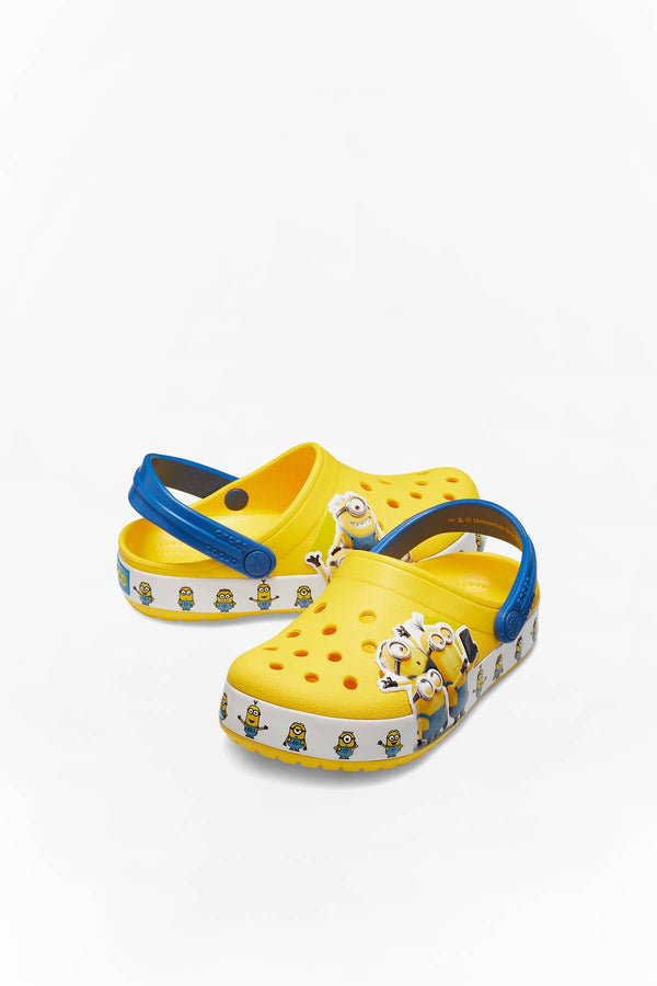 #00045  Crocs obuv, flip flopy CROCSFL MINIONS MULTI G KIDS 730 YELLOW