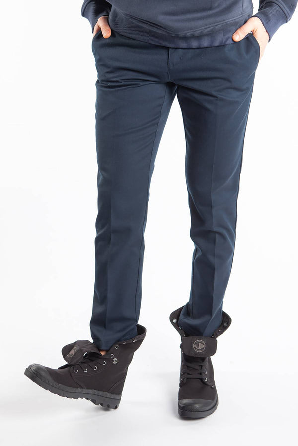 #00013  Dickies oblečení, nohavice SLIM FIT WORK PANT DN DARK NAVY