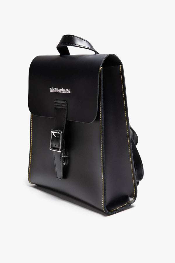 #00137  Dr.Martens tašky a batohy, batoh MINI LEATHER BACKPACK 001 BLACK/BLACK SMOOTH/KIEV
