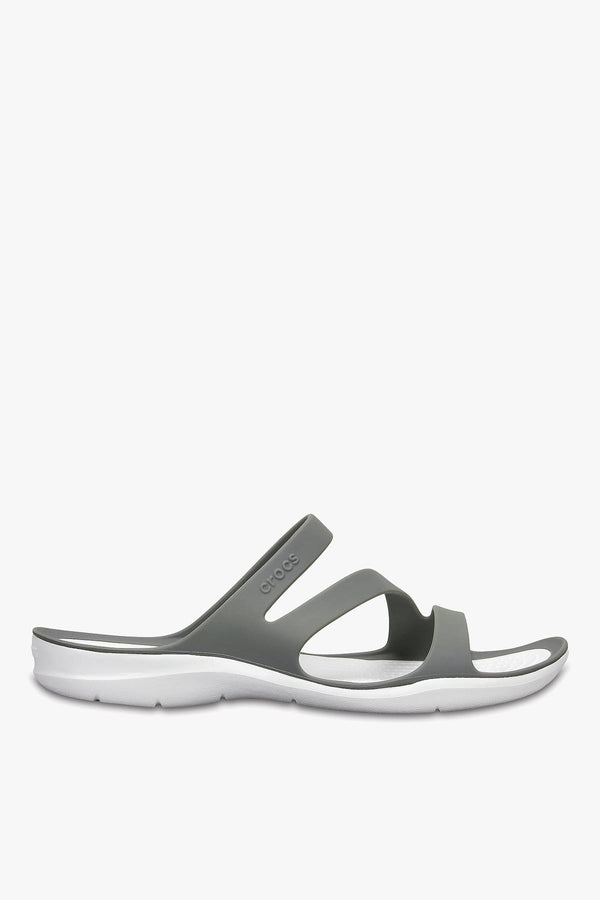 #00111  Crocs obuv SWIFTWATER SANDAL W 203998 SMOKE/WHITE