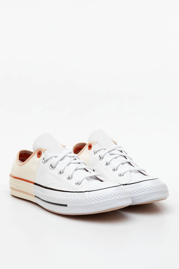 #00026  Converse obuv, tenisky SUNBLOCKED CHUCK 70 LOW TOP 673 WHITE/EGRET/SHIMMER