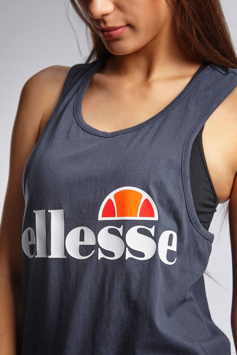 #00034  Ellesse tričko ABIGAILLE VEST DRESS BLUES