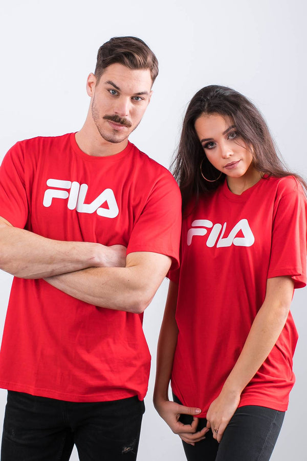 #00039  Fila tričko PURE SHORT SLEEVE SHIRT 006 TRUE RED