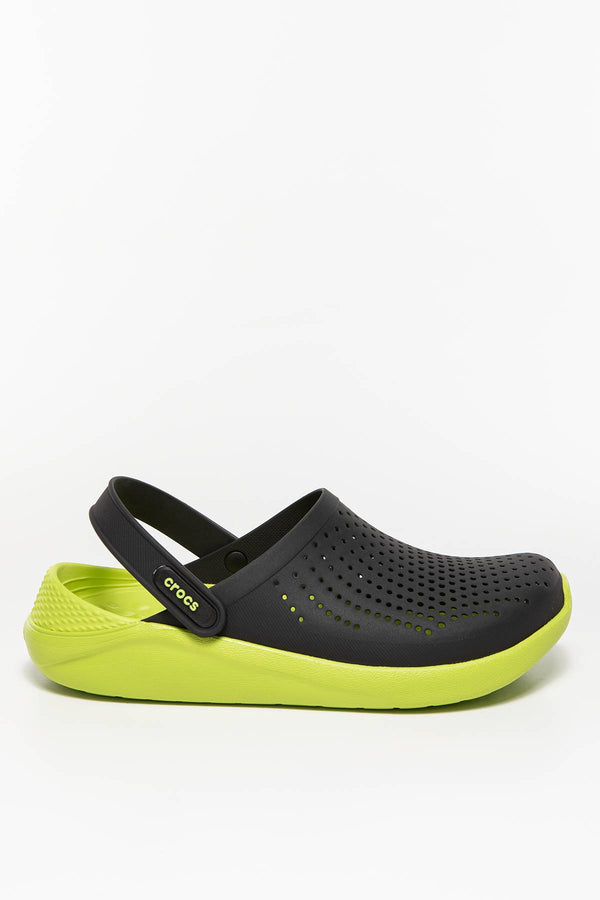 #00038  Crocs obuv, flip flopy LITERIDE CLOG BLACK/LIME PUNCH BLACK/LIME PUNCH
