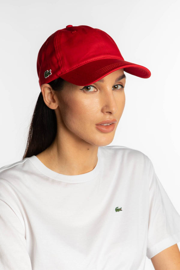 #00062  Lacoste doplňky CAP 240 RED