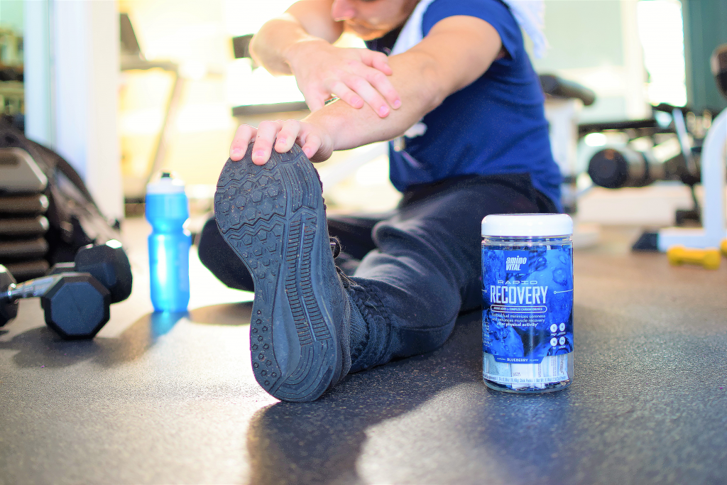 rapid recovery and stretching help reduce soreness