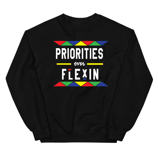 * PRIORITIES OVER FLEXIN BLACK MULTI CREW