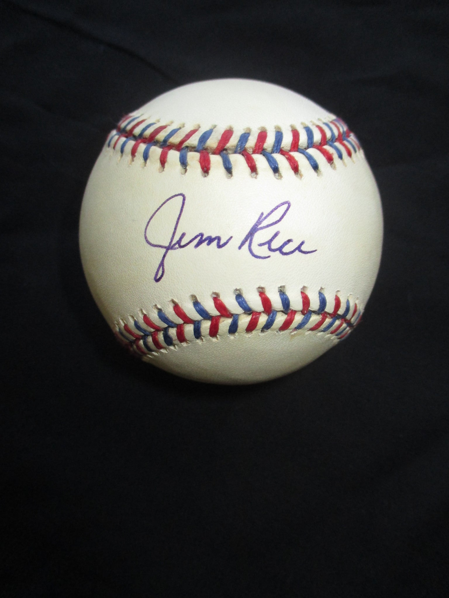 Hand-Signed Jim Rice Baseball