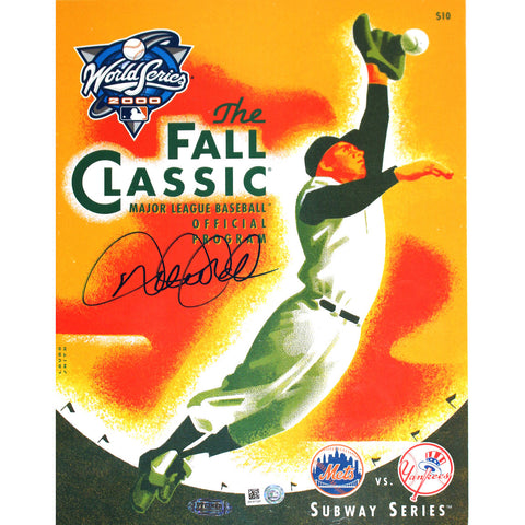 Derek Jeter Autographed Official 2000 World Series Program