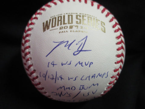 Hand-Signed Madison Bumgarner Baseball