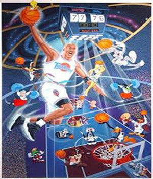 Space Jam Signed Limited Edition 269/500