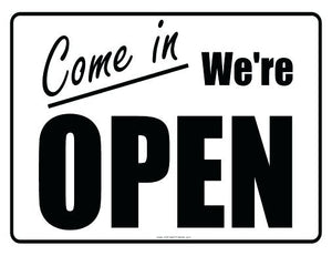 We are open!!! Hurrah