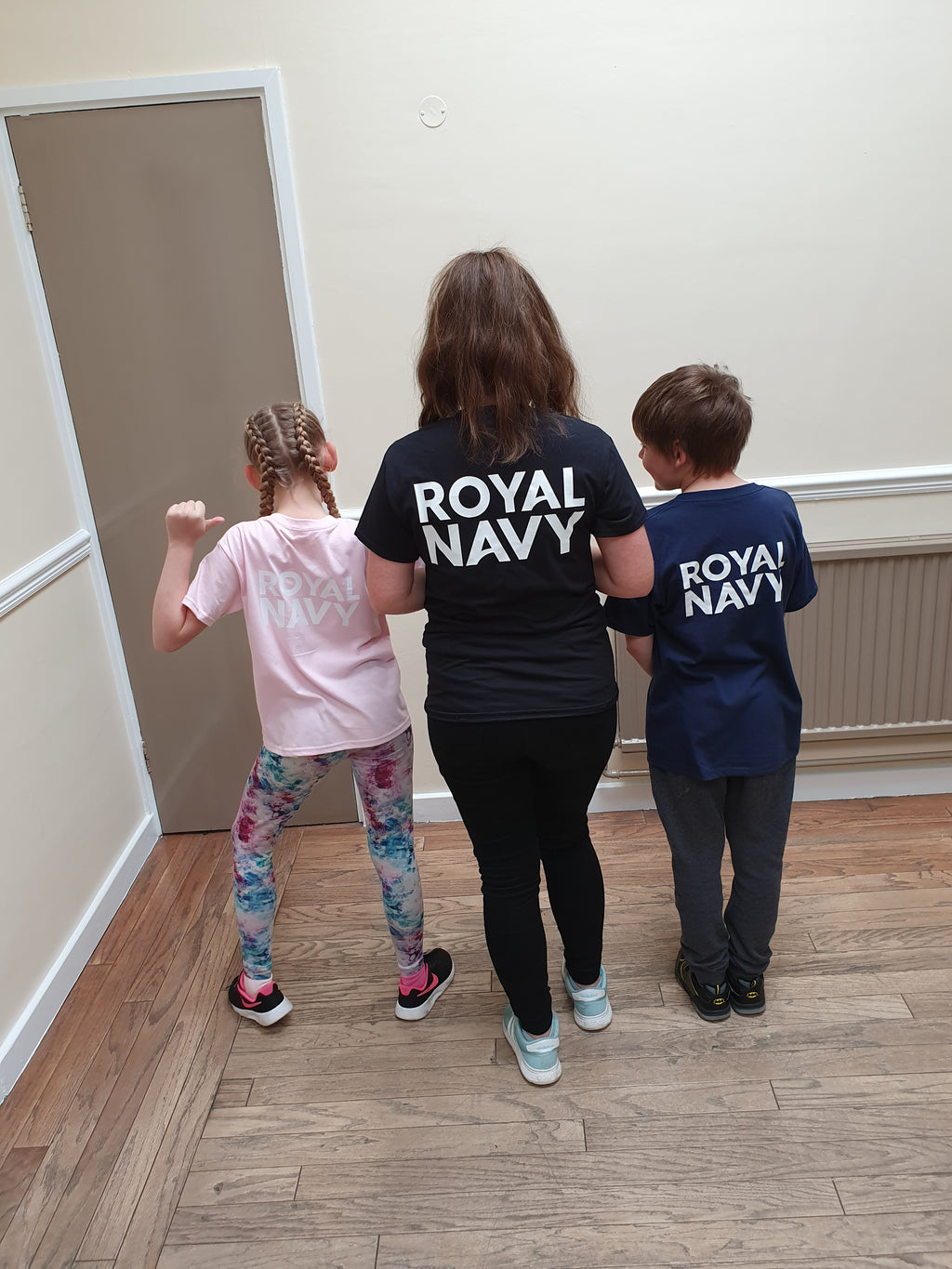 Kids Royal Navy T Shirt