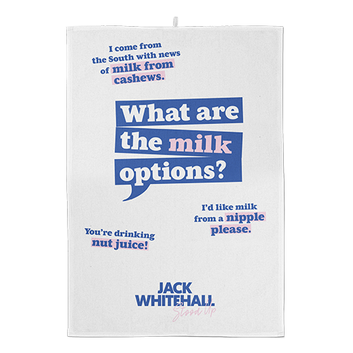 What are the Milk options? Tea Towel