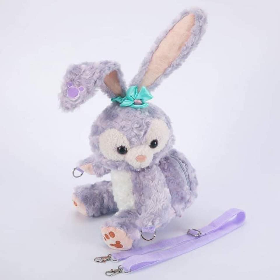 Plush Full Easter Bunny Purse