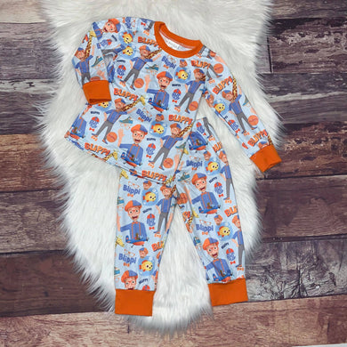 ** BACK IN STOCK ** Printed Character Pajamas - Blippi