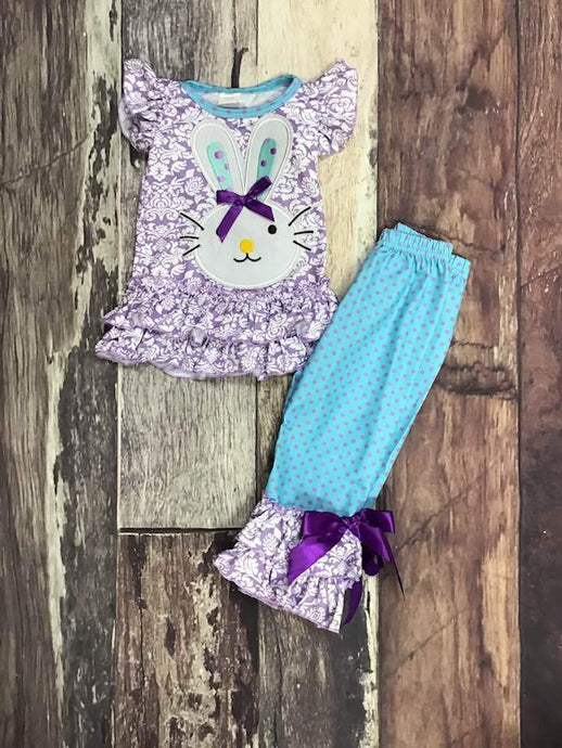 Blue & Purple Bunny Set