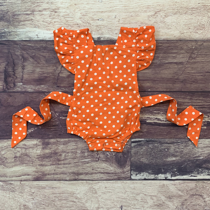 Knit Cotton Ruffle Sleeve Sunsuit - Multiple Colors Available