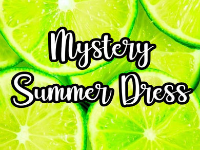 Mystery Summer Dress Promotion