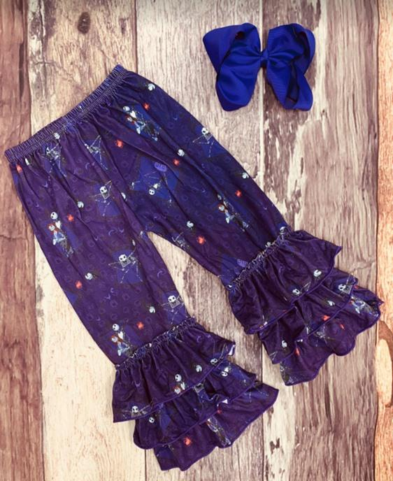 Halloween Truffle Leggings - Purple NBC