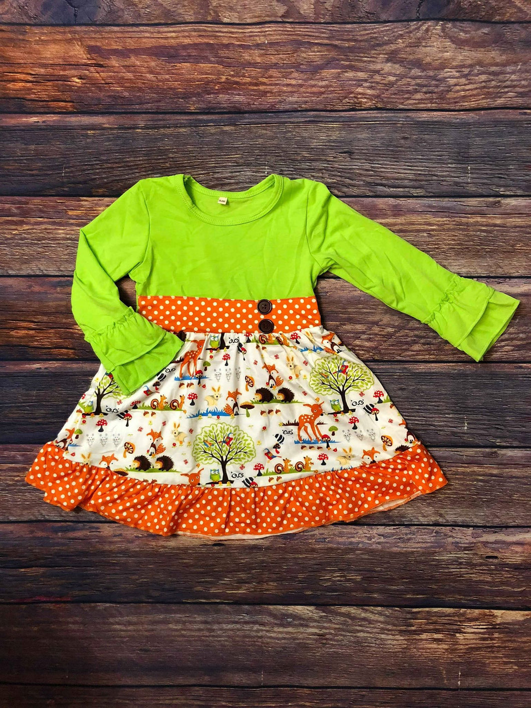 Woodland Critters Dress