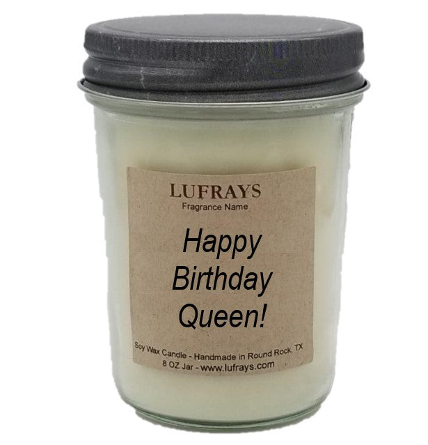 Birthday Queen Candle