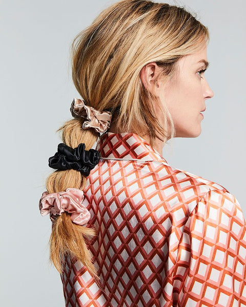 100% Mulberry Silk Scrunchy