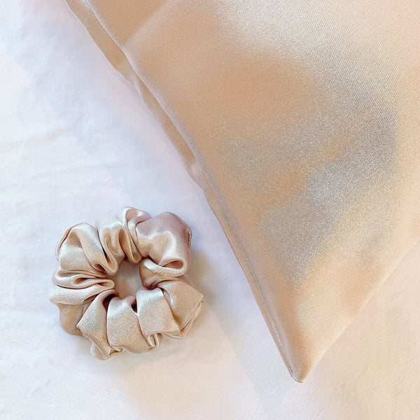 SILK SPECIAL SET - Silk Pillowcase & Silk Scrunchy