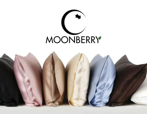 100% Mulberry Silk Pillowcase - 19 momme