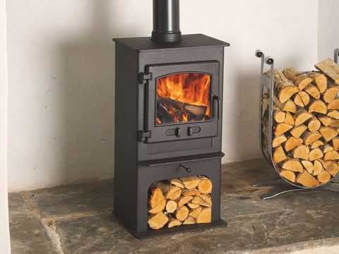 Dean Forge Croft Junior Logstore 5Kw Wood Burning & Multi-fuel Stove
